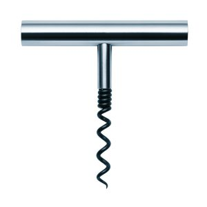 Contemporary Styled Steel Corkscrew