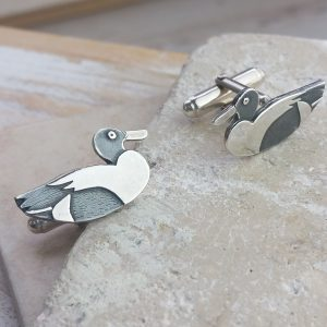 Lake Loving Duck Cufflinks