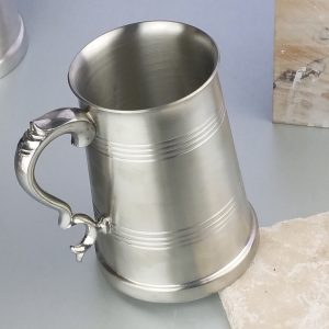 Personalised Lord of the Manor Pewter Tankard