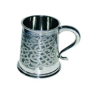 Personalised Celtic Knot Tankard