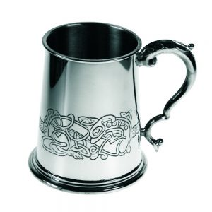 Personalised Celtic Dragon Tankard