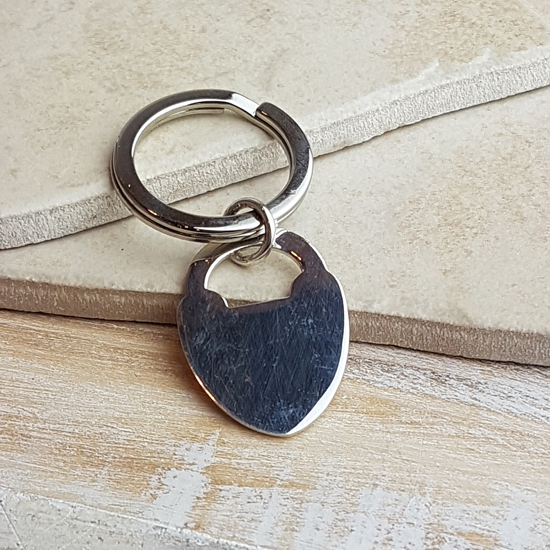 Padlock To My Heart Keyring