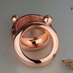 Personalised Ladies' Copper Bangle Hip Flask