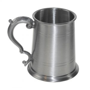 Personalised Georgian Satin Finish Tankard