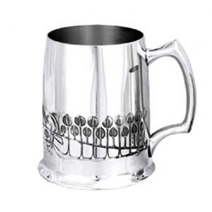 Personalised Rennie Mackintosh Pewter Tankard