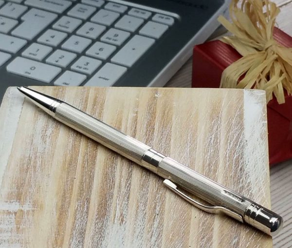 Earl Silver Ball Pen & Gift Box with Free Engraving