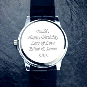 Personalised Cologne Gent's Watch & Gift Box with Free Engraving
