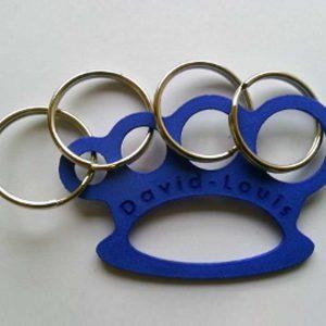 3D Printed Blue Keyring