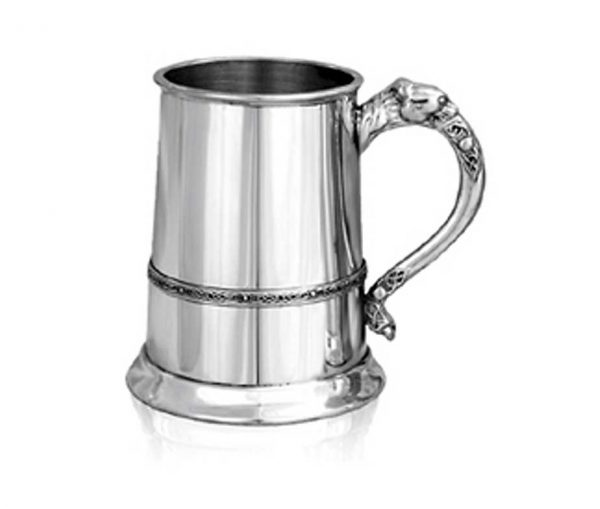 Personalised Irish Pewter Tankard
