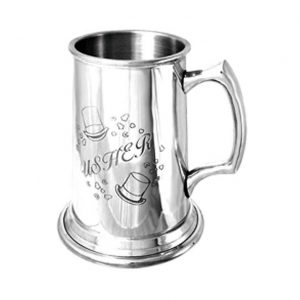 Personalised & Engraved Usher Tankard
