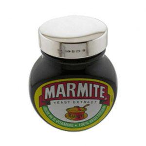 Silver Marmite Lid 250g