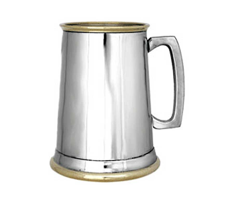 how to make a pewter tankard