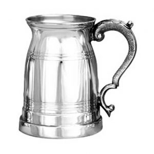 Personalised Old London Style Pewter Tankard