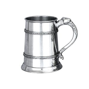 Personalised Celtic Pewter Tankard