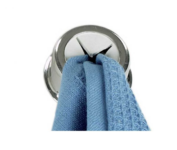 Polished Tea Towel Holder