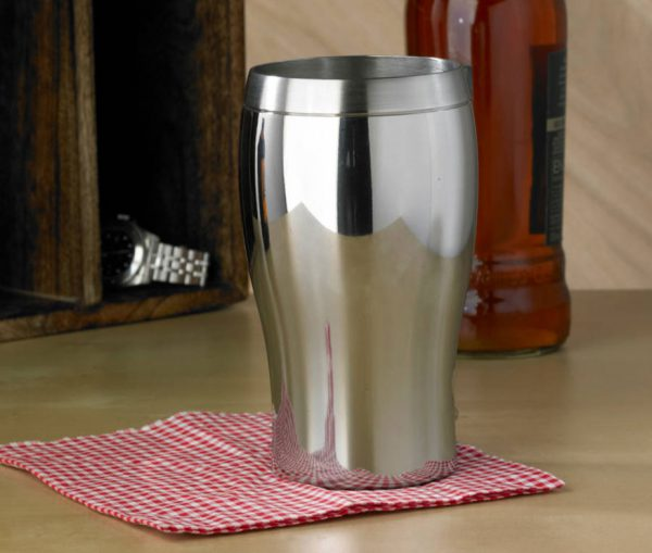 Personalised Pint Glass Shaped Tankard