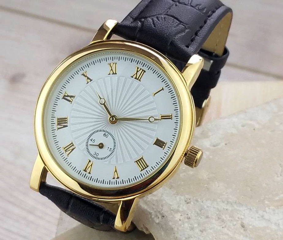 Le Harve Gentleman's Personalised Watch