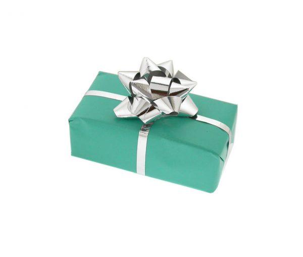 Silver Stepped Lozenge Cufflinks with Luxury Presentation Box
