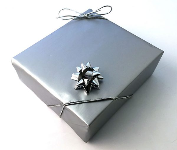 Pulse Silver Fountain Pen & Gift Box with Free Engraving