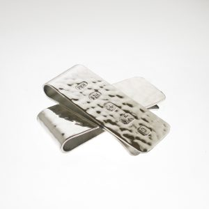 Personalised Hammered Effect Money Clip