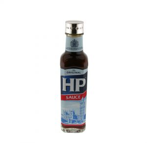 Personalised Engraved Silver Hp Sauce Bottle Lid