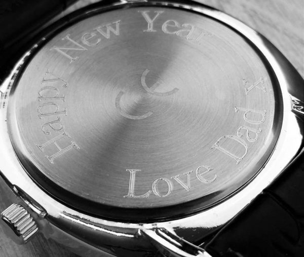 Vitelli Styled Personalised Mens Watch Free Engraving