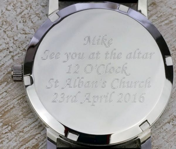 Personalised Lodestar Mens Watch