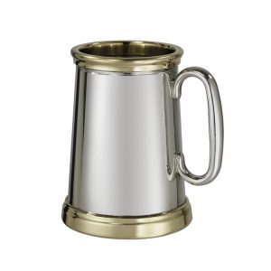Personalised Extra Heavy Wortley Pewter Tankard