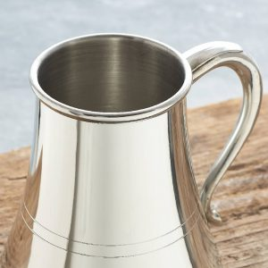 Personalised Dad Proof Non Spill Pewter Tankard