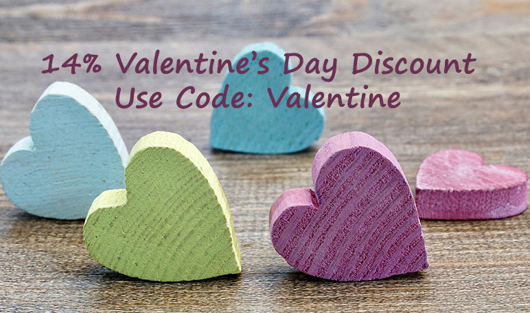 Personalised Valentine's Day Gifts Discount Deal Offer