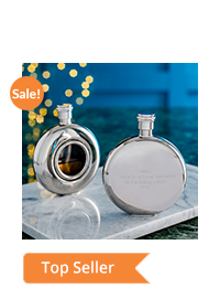 Round Window Hip Flask – Our Best Seller Is Now On Sale!