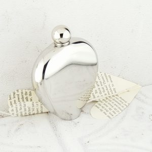 Valentines Day Heart Hip Flask